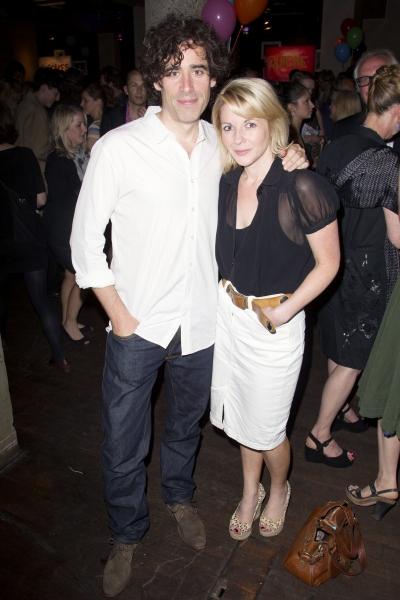 Stephen Mangan (Ed) and Lisa Dillon (Lisa)
