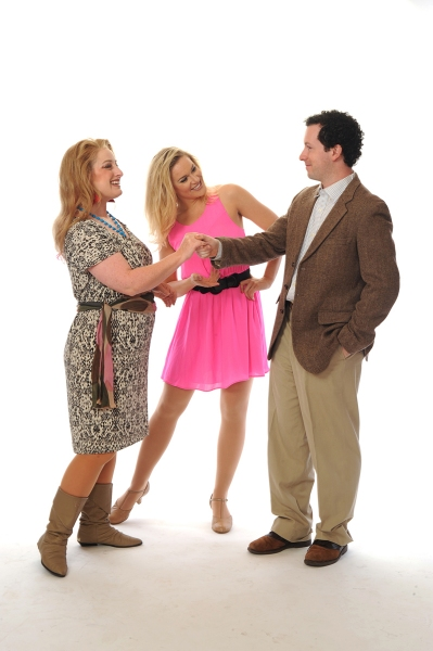 Elizabeth Stuart, Jessica Crouch and Chris Cooke Photo
