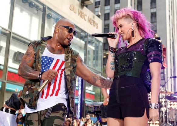 Flo Rida at Flo Rida Performs on TODAY
