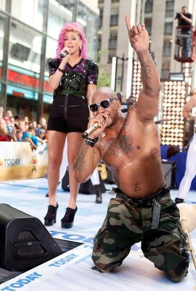 Flo Rida at Flo Rida Performs on TODAY