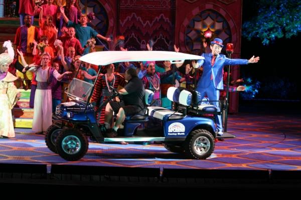 John Tartaglia at Opening Night of Muny's ALADDIN! Robin De Jesus, John Tartaglia, Samantha Massell & More!