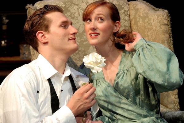 Jeff Church as Maxim de Winter and Erin Sheehan The Second Mrs. de Winter