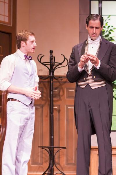 Blake Weir as Jack Chesney and Linford Herschberger as Brassett