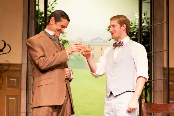 Ric Hodgin as Colonel Sir Franis Chesney and Blake Weir as Jack Chesney