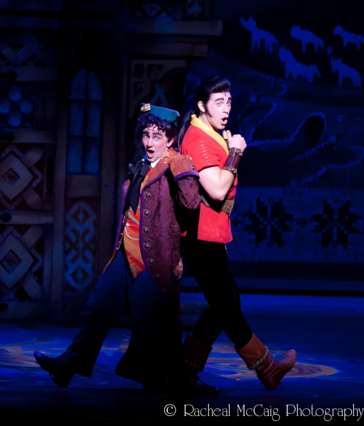 Jimmy Larkin and Matt Farcher at Beauty and the Beast Enchants at the Four Seasons Centre