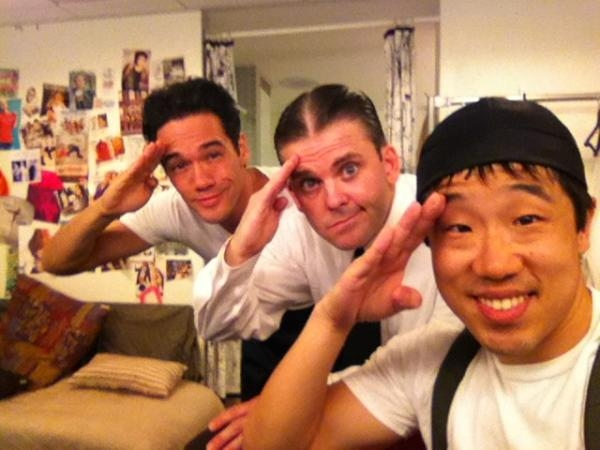 ANYTHING GOES' Andrew Cao, Robert Creighton and Raymond J. Lee  Photo