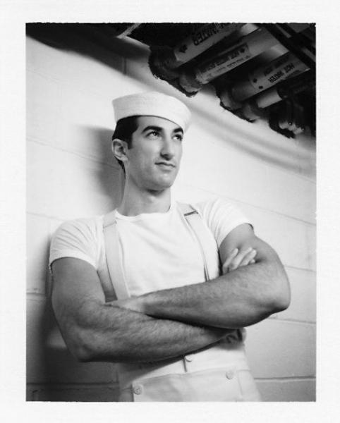 Brandon Rubendall at Robert Petkoff Takes ANYTHING GOES Polaroid Cast Portraits