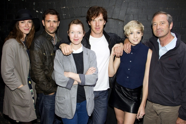 Rebecca Hall (Alison), Matt Ryan (Cliff), Anna Maxwell Martin (Helena), Benedict Cumberbatch (Jimmy Porter), Polly Stenham (Director) and Julian Wadham (Colonel Redfern)