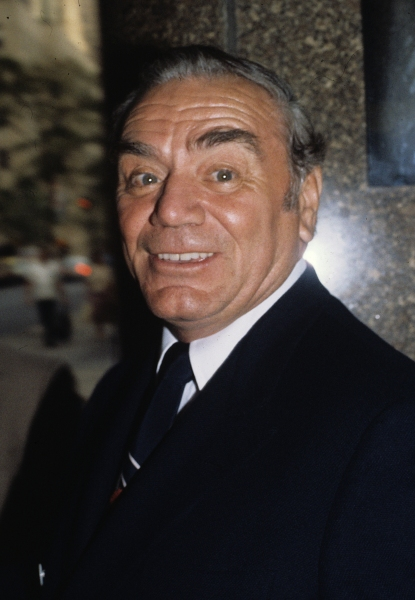 Ernest Borgnine pictured in New York City in 1981.