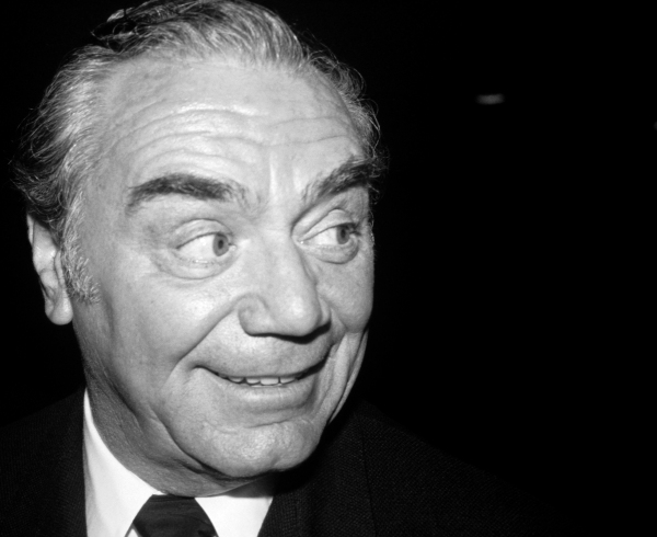 Earnest Borgnine at a promotion for his new movie 'Deadly Blessing' in New York City. August 13, 1981.   at BroadwayWorld Remembers Ernest Borgnine