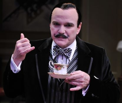BWW Reviews: Agatha Christie's BLACK COFFEE - Beat the Summer Heat with This Chilling Treat