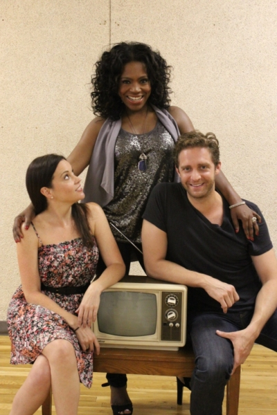 Jenna Leigh Green, Sheryl Lee Ralph and Colin Hanlon