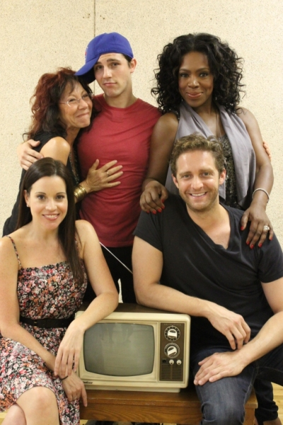Jenna Leigh Green, Colin Hanlon, Mindy Sterling, Curt Hansen, Sheryl Lee Ralph at Paige Davis & Michael Urie Join Cast of IT'S ON! at NYMF