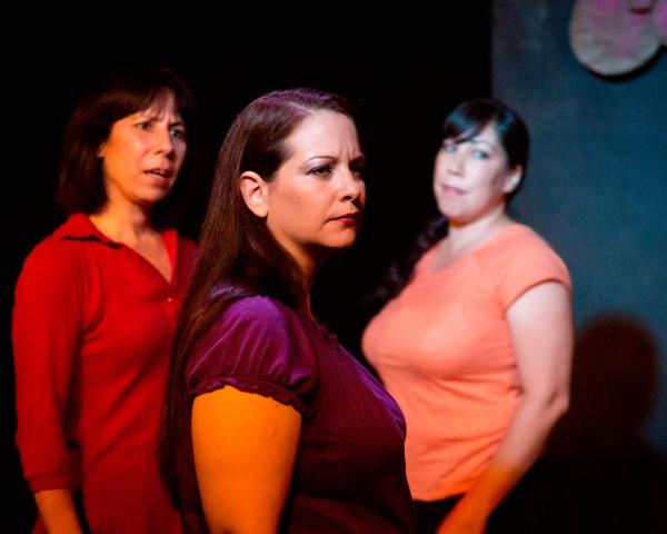Julie Herber, Jeanine Collins and Lia Seltzer