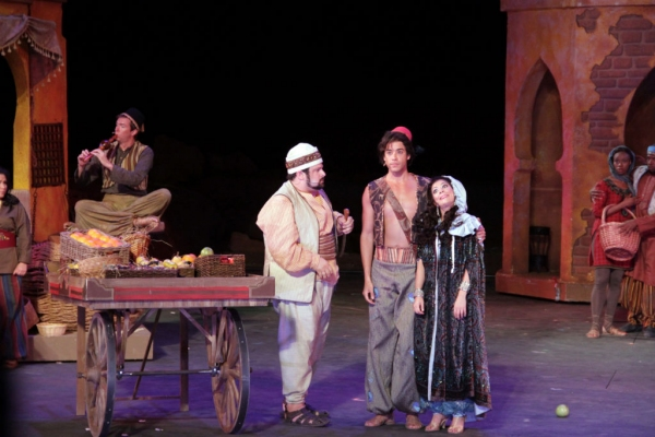Photo Flash: First Look at Dan Domenech, Haley Carlucci & More in Tuacahn's ALADDIN