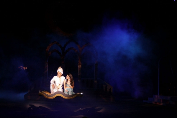 Dan Domenech, Haley Carlucci at First Look at Dan Domenech, Haley Carlucci & More in Tuacahn's ALADDIN