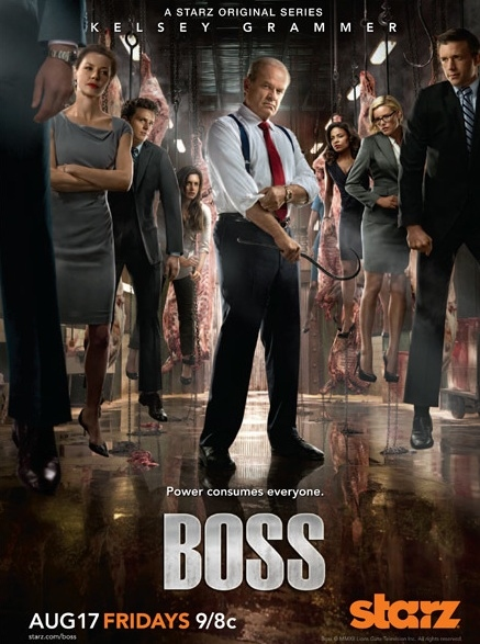 Poster Art for BOSS Season 2 at Poster Art for Starz's BOSS Season 2