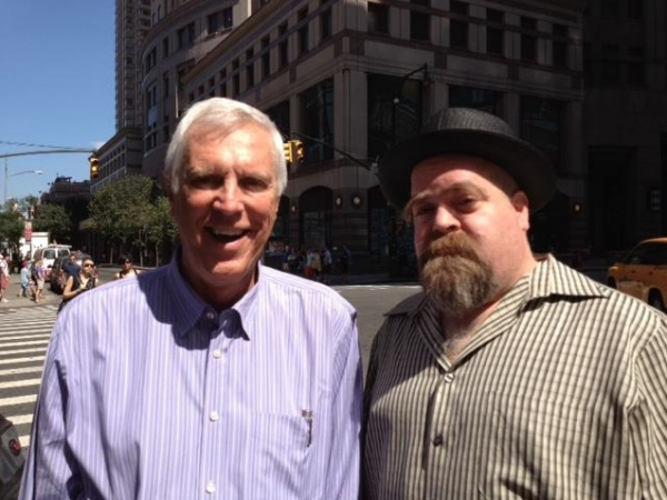 """the Mayor of Broadway"" Ken Billington with David Gallo"