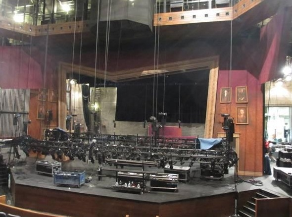 Photo Flash: Behind the Scenes with THE NUTTY PROFESSOR Set Designer David Gallo at TPAC
