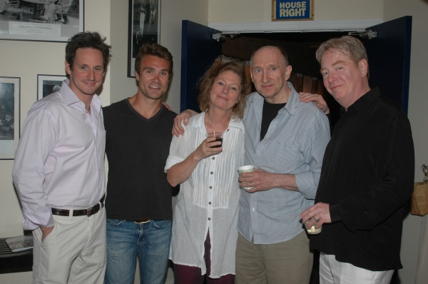 Scott Thomas Hinson, Rob DiSario, Deborah Hedwall, Peter McRobbie and Mark Coffin