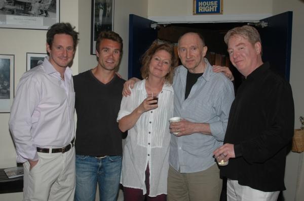 Scott Thomas Hinson, Rob DiSario, Deborah Hedwall, Peter McRobbie and Mark Coffin Photo