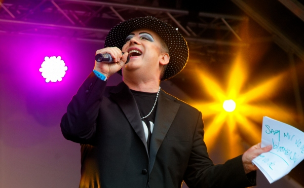 Boy George at Boy George Performs at PrideLondon!