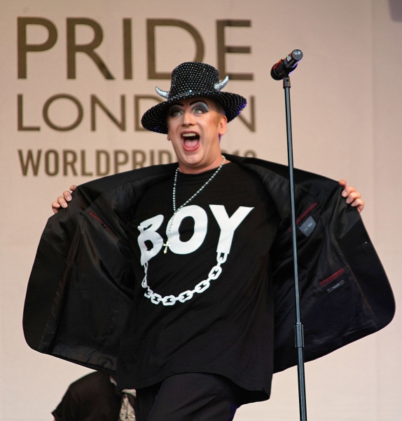 Photo Flash: Boy George Performs at PrideLondon!