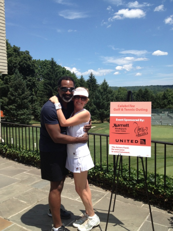 Photo Flash: Liz Callaway, Norm Lewis and More Join Actors Fund at 2nd Annual CelebriTee Golf & Tennis Outing