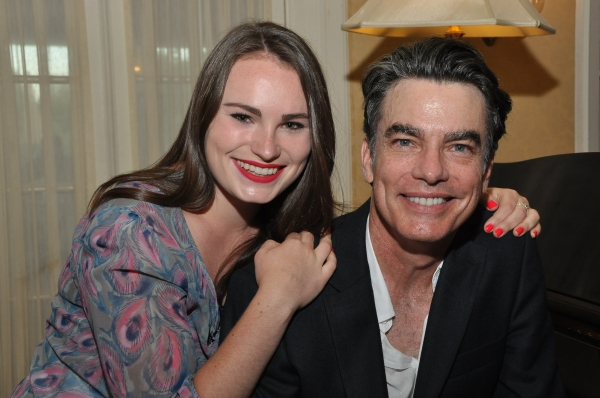 Kathryn Gallagher and Peter Gallagher