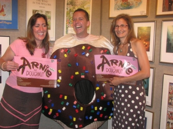 Photo Flash: Tom Deckman of NYMF's ARNIE THE DOUGHNUT at Books of Wonder Reading