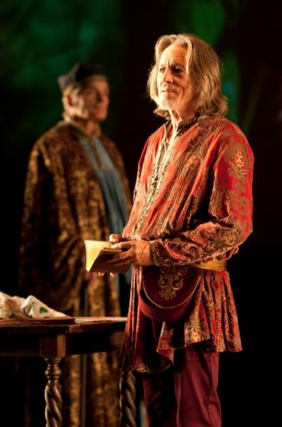 David Selby as Piero Soderini and Miles Anderson as Leonardo da Vinci