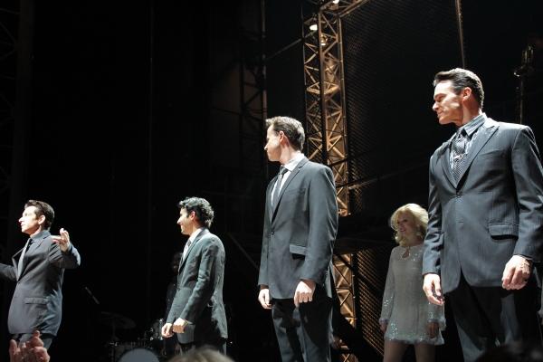 Andy Karl, John Lloyd Young, Quinn VanAntwerp, Matt Bogart