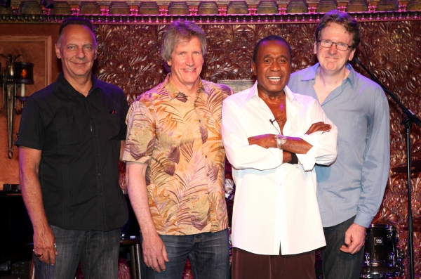 Ben Vereen & band members David Loeb, Marc Dicianni, Tome Kennedy