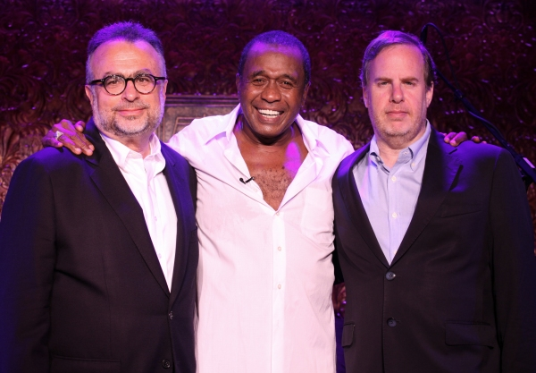 Richard Frankel & Marc Routh with Ben Vereen  at Ben Vereen Takes the Stage in STEPPIN' OUT WITH BEN VEREEN' at 54 Below