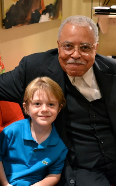 Max Page and James Earl Jones
