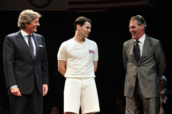 Photo Coverage: CHARIOTS OF FIRE Film Cast Greets UK Stage Company