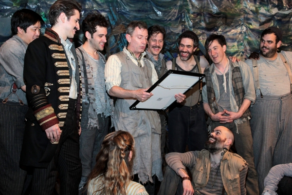 Photo Coverage: PETER AND THE STARCATCHER Cast Celebrates 100 Performances!