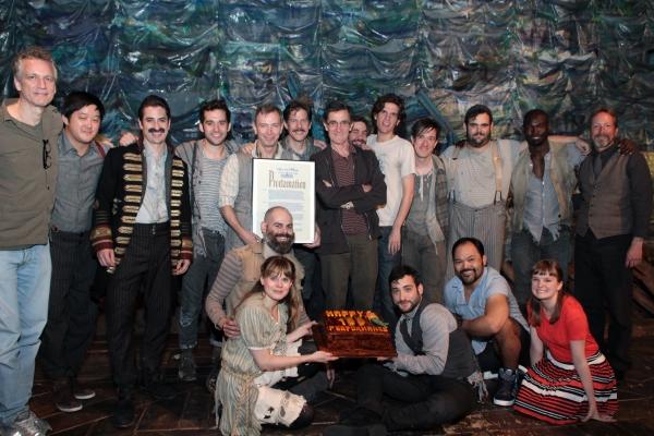 Photos: PETER AND THE STARCATCHER Cast Celebrates 100 Performances!