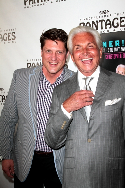 Christopher Sieber and George Hamilton