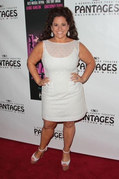 Marissa Jaret Winokur at LA CAGE AUX FOLLES Opens in LA - Christopher Sieber, George Hamilton & More