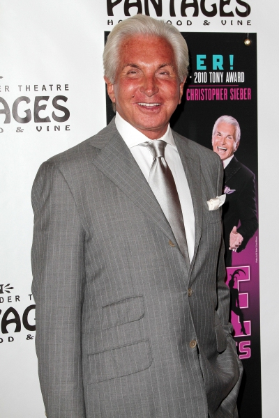 George Hamilton at LA CAGE AUX FOLLES Opens in LA - Christopher Sieber, George Hamilton & More