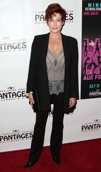 Carolyn Hennesy at LA CAGE AUX FOLLES Opens in LA - Christopher Sieber, George Hamilton & More