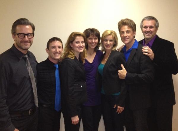 Original cast member Lynn Winterstaller (center) stopped by to meet the cast:  Alan S Photo
