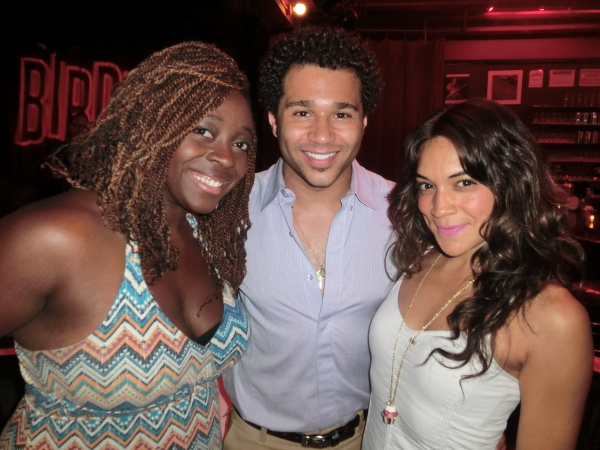 Photo Flash: Corbin Bleu, Jamie de Roy, and More Perform at CAST PARTY