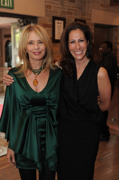 Rosanna Arquette and Geffen Playhouse Director of Development Regina Miller  Photo