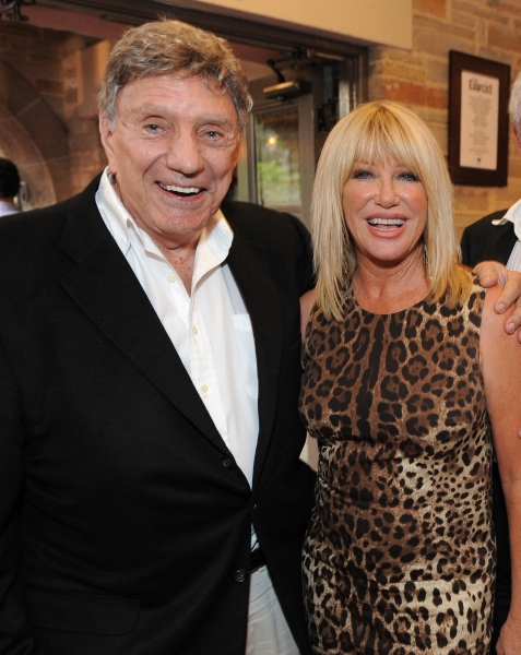 Author William Peter Blatty and Suzanne Somers