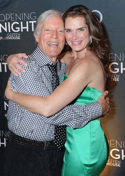 Richard Chamberlain and Brooke Shields attend the world premiere opening of 'The Exorcist' at the Geffen Playhouse on Wednesday July 11, 2012 in Westwood, California.  (Photo by Jordan Strauss/Invision for the Geffen Playhouse/AP Images) at Brooke Shields, Richard Chamberlain and More at THE EXORCIST Opening Night Party!