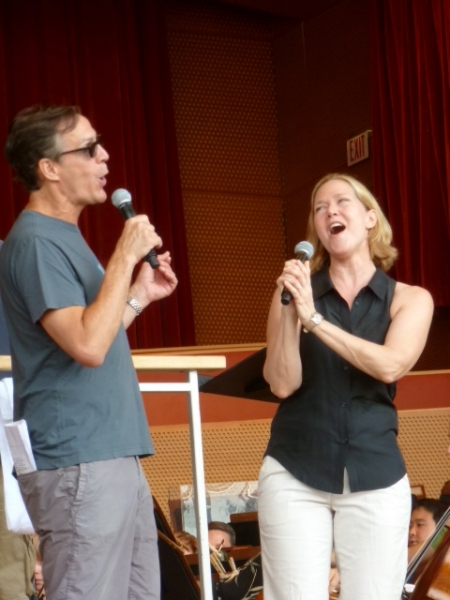 Photo Flash: Rebecca Luker, Marin Mazzie and More at Grant Park Music Festival PERFECTLY FRANK Rehearsal