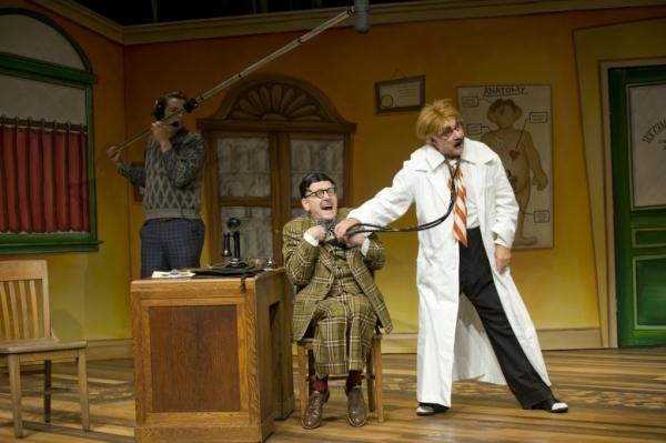 Raye Birk as Al Lewis and Peter Michael Goetz as Willie Clark