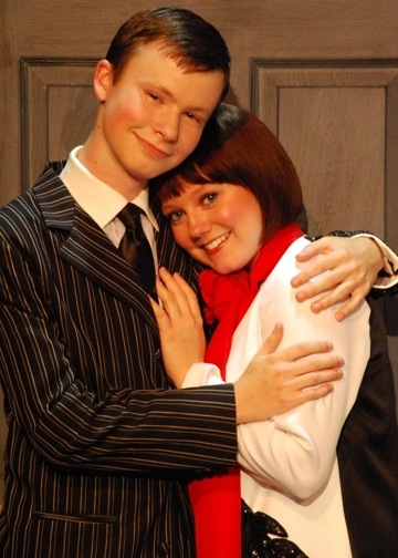 Sam Jacobi and Molly Will as Jimmy and Millie